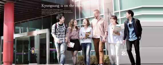 Đại học Kyungsung – điểm hút sinh viên quốc tế tại cảng biển Busan
