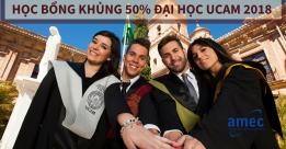 25 suất Học Bổng KHỦNG 50% ĐH UCAM – Tây Ban Nha 2018!