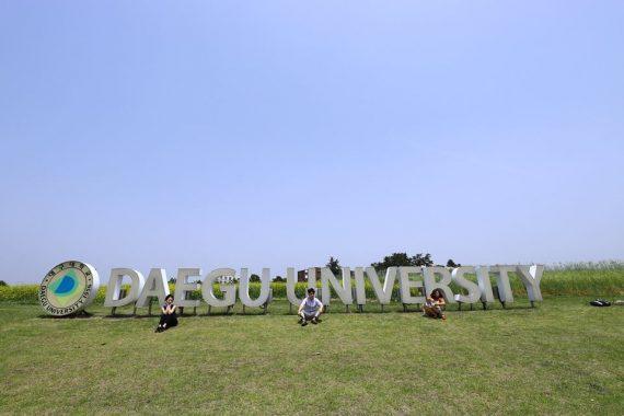 Rộn ràng mùa tuyển sinh tháng 3 tại Đại học Daegu