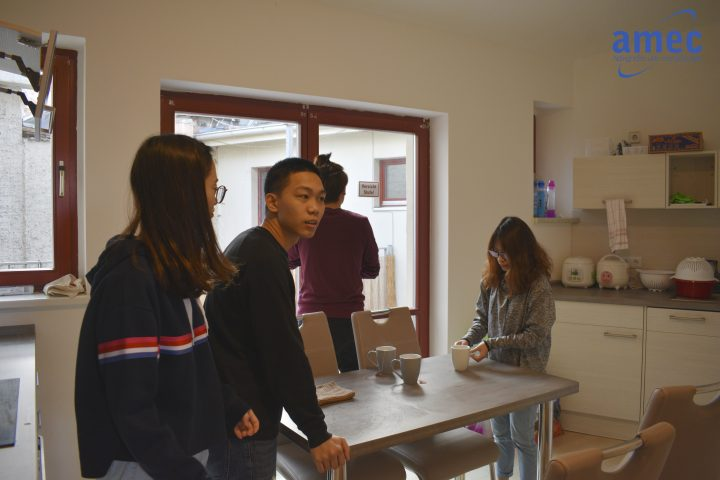 Du học Đức 2019: Học sinh AMEC thuê nhà tại Đức