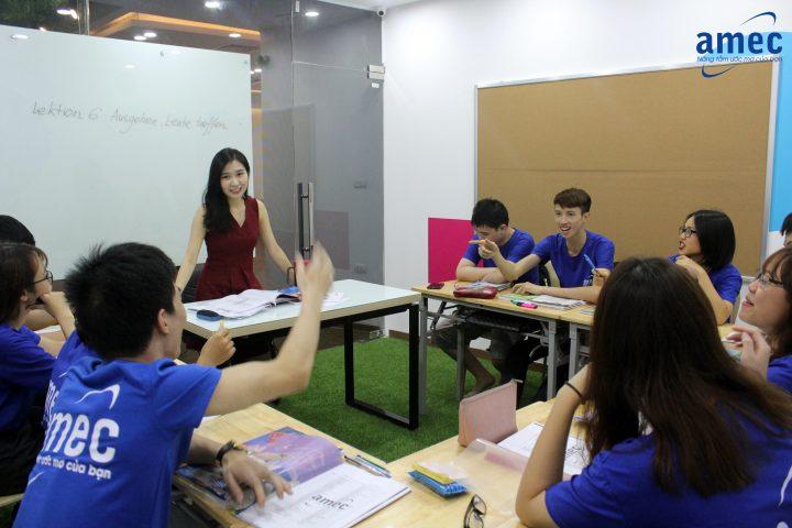 Du học Đức 2019: Học tiếng Đức tại AMEC