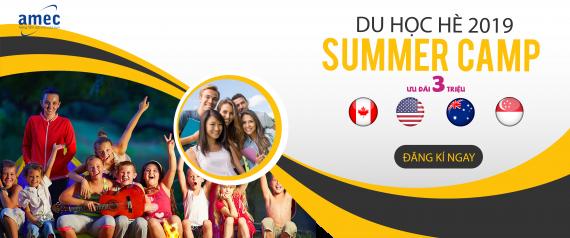 Ưu đãi lớn khi Đăng ký Summer Camp – Du học hè 2019