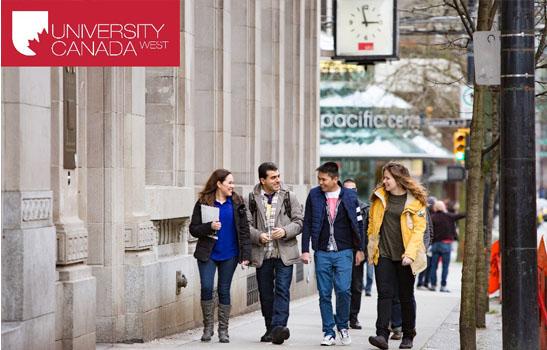 """""""Săn"""" học bổng tại University Canada West – Đại học hàng đầu Canada"""