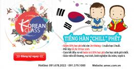 Khai giảng khóa học tiếng Hàn – Học thoải mái, ngàn ưu đãi