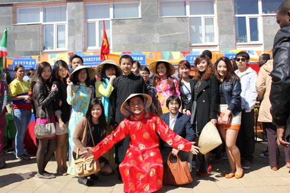 Du học sinh Việt tại Nga