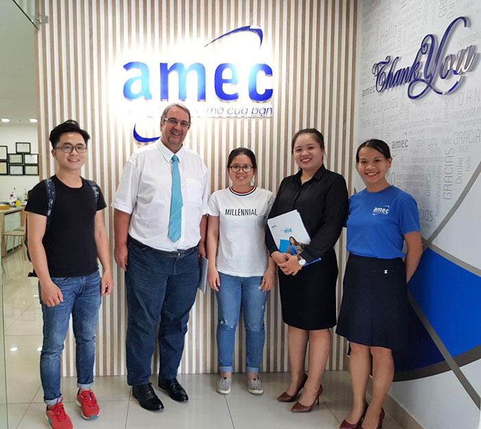 AMEC cùng đại diện Trường đại học quốc tế Karlshochschule
