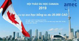 Hội thảo du học Canada: Cơ hội dinh học bổng lên đến 20.000 CAD