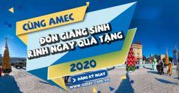 Đón Giáng sinh – Rinh quà siêu khủng cùng Du học AMEC 2020