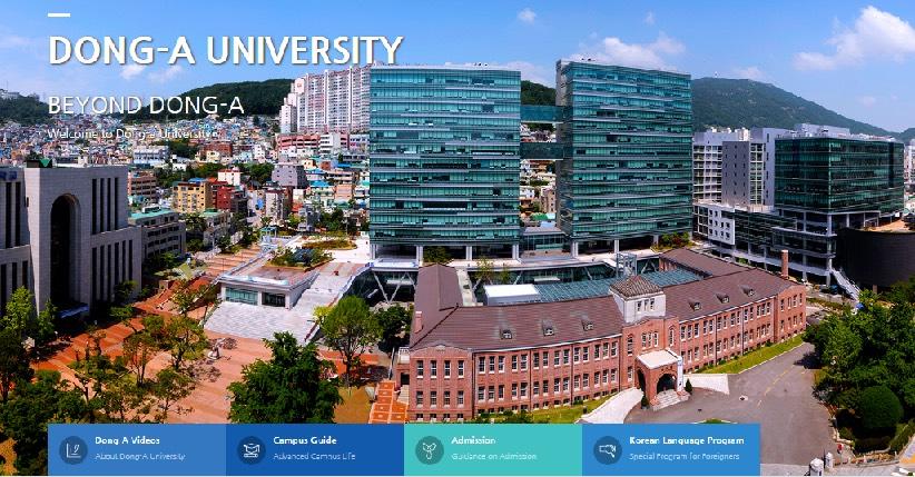 Nhiều sinh viên Việt Nam đã lựa chọn du học Hàn trường Dong A cũng bởi nhiều học bổng hấp dẫn